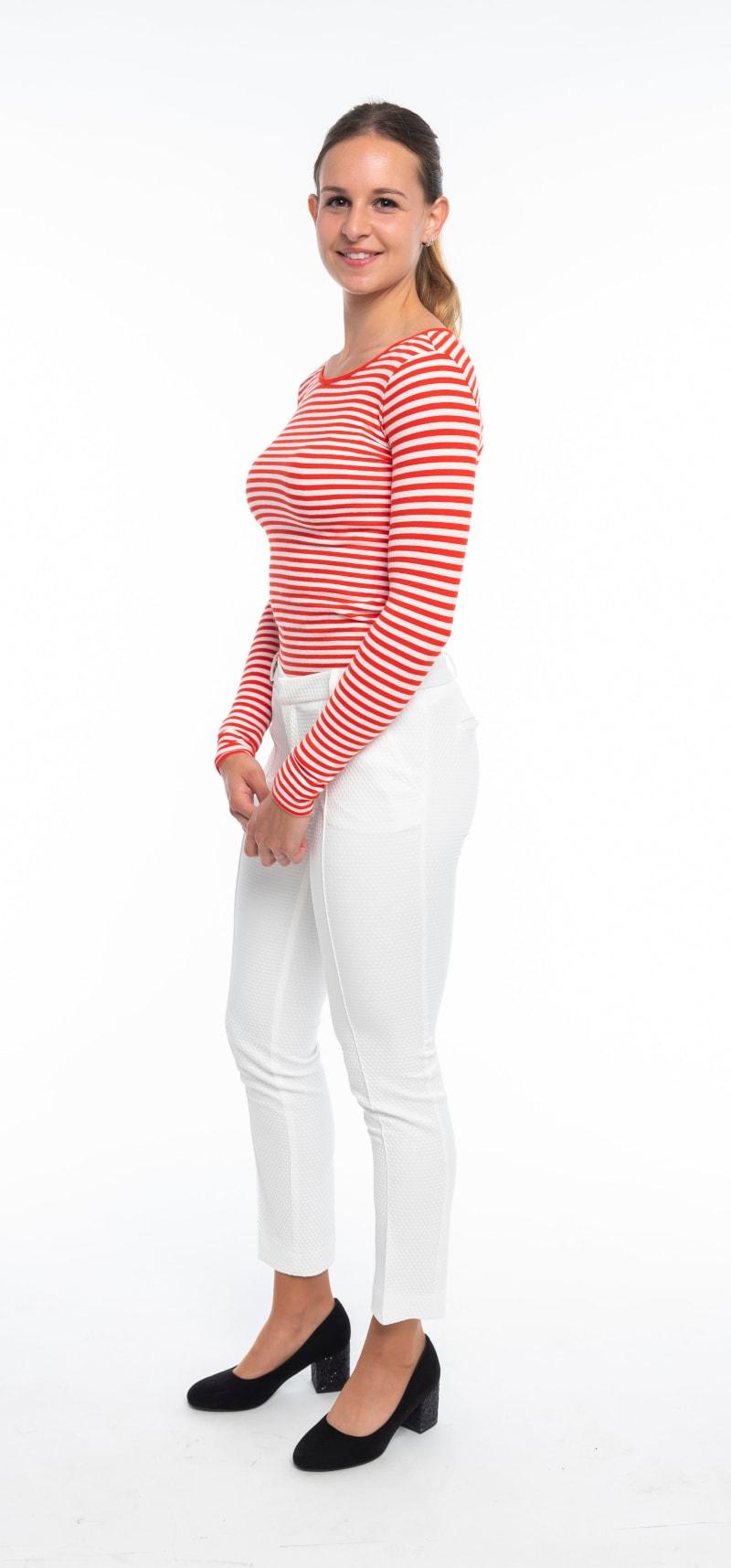 Pantalon blanc 2