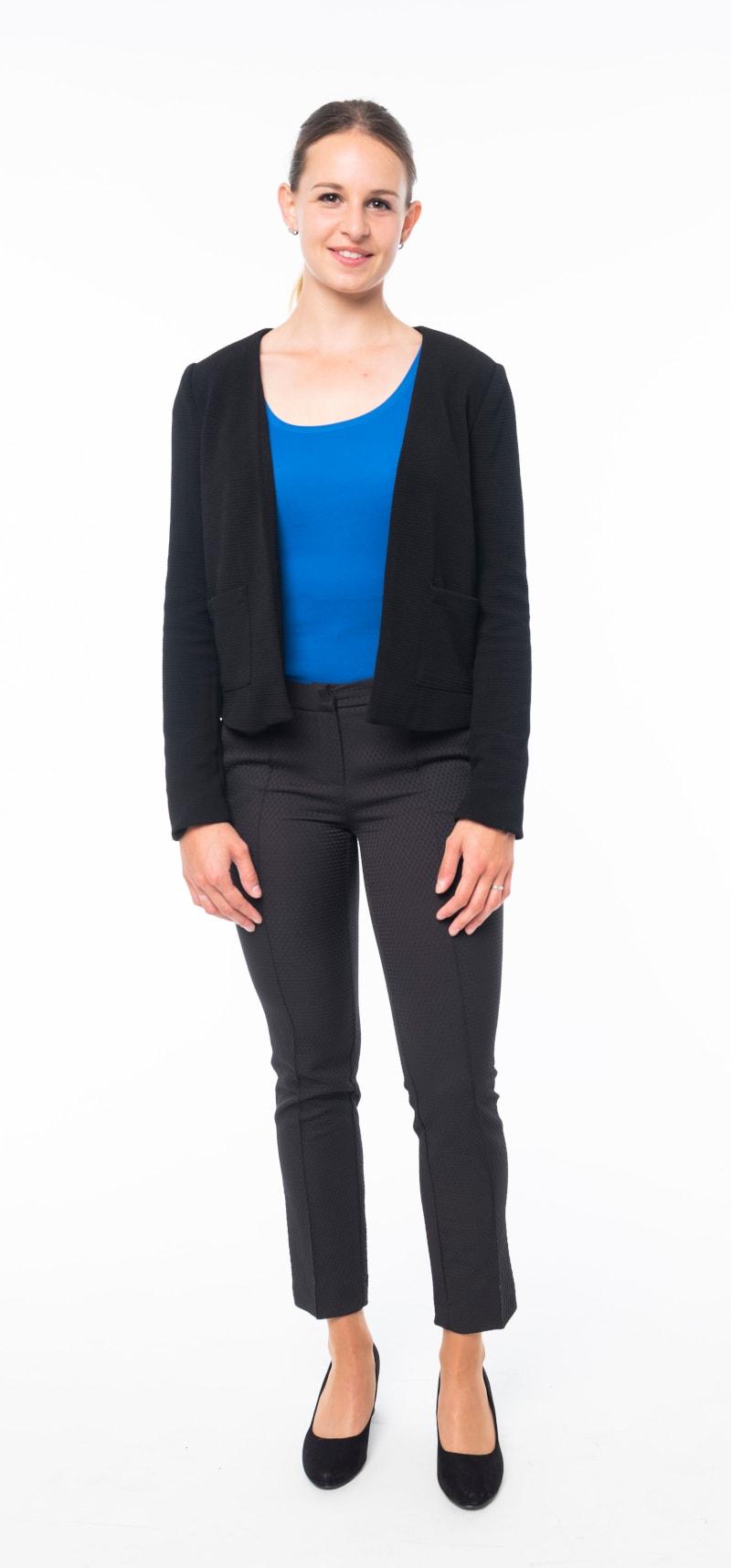 Pantalon noir veste noire