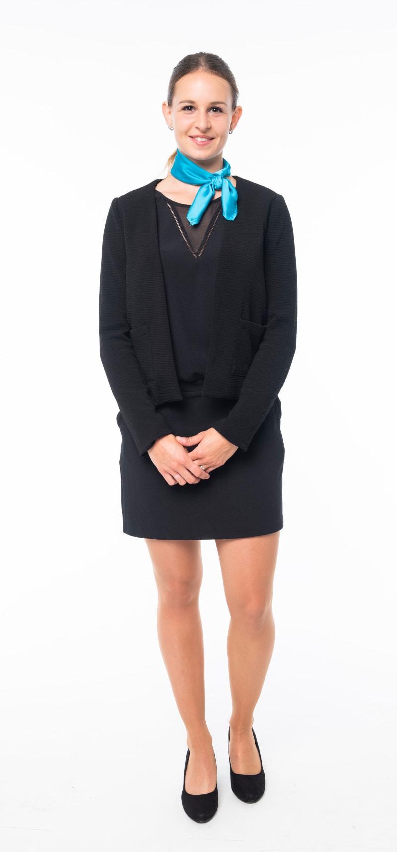 Robe noire veste noire